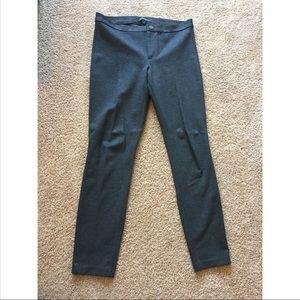 Banana Republic grey leggings size 8